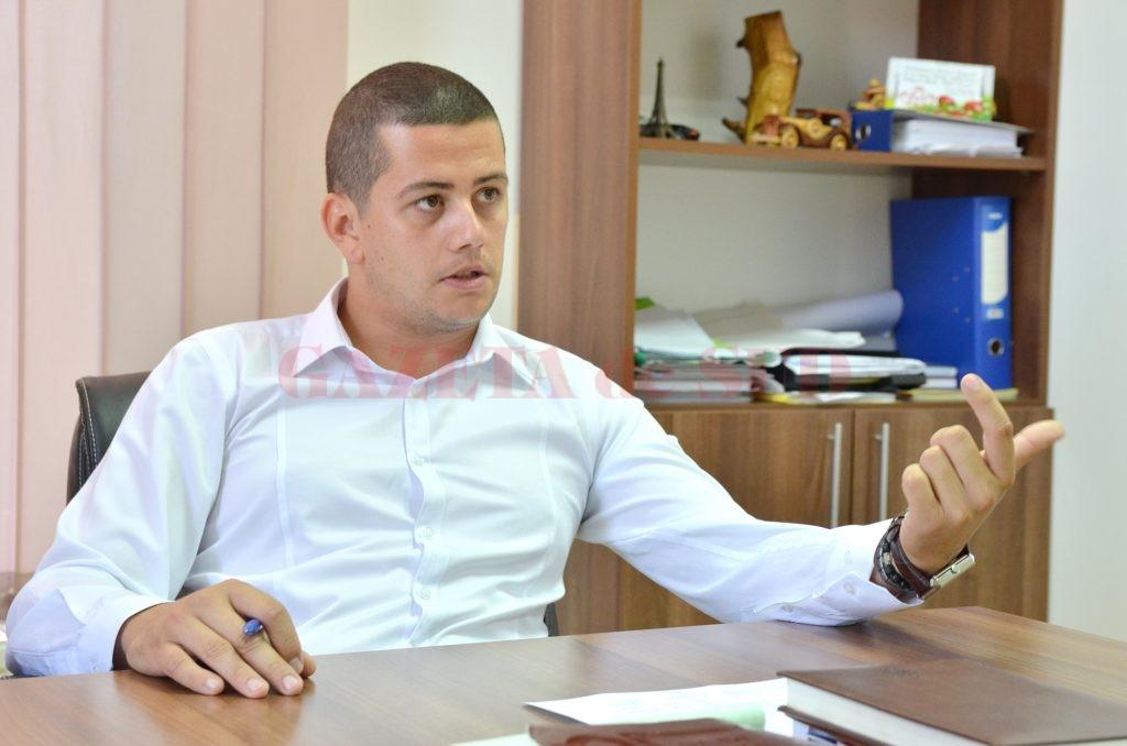 Claudiu Neagoe, viitorul manager al SC Piețe și Târguri Craiova SRL ()