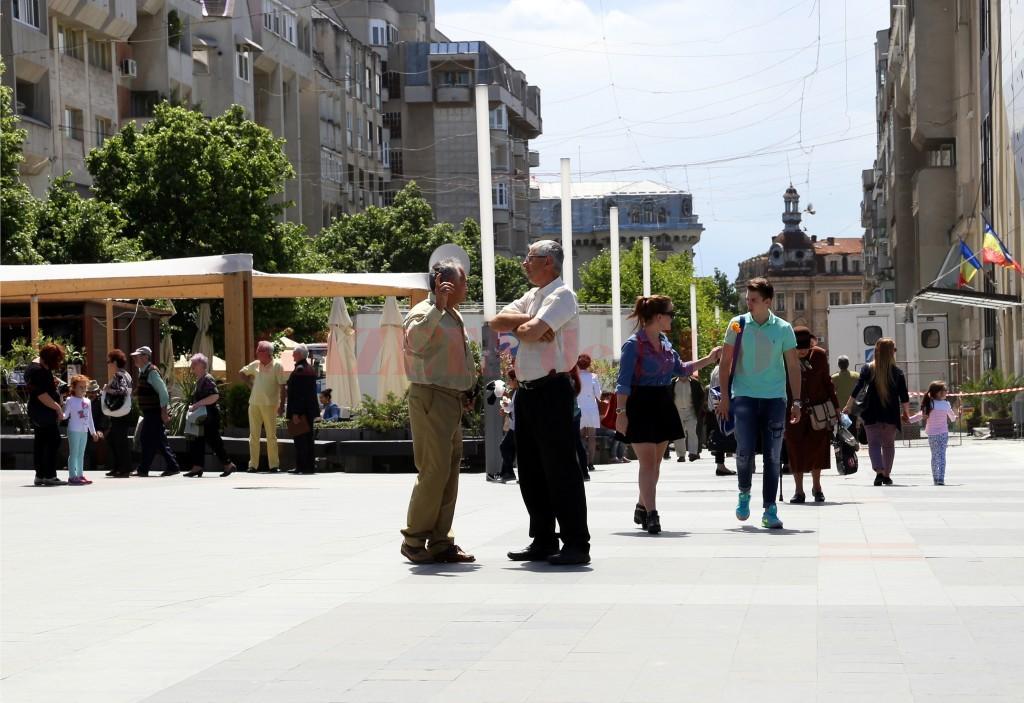 După câștigul salarial net, Doljul este pe locul 16 pe țară, iar după pensia medie, județul este pe locul 25 pe țară (Foto: Bogdan Grosu)