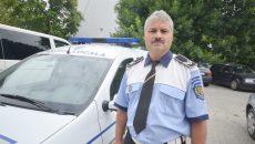 Ionel Broboană, agentul principal din cadrul Poliției Locale care a fost agresat (Foto: Traian Mitrache)