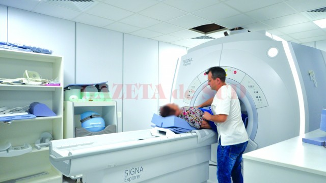 La SJU Craiova a fost montat unul dintre puținele RMN-uri din țară pe care se pot face investigații cu anestezie generală