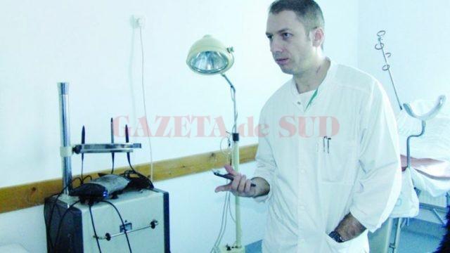 Teodor Zavate, managerul Spitalului Municipal Motru (Foto: Eugen Măruţă)