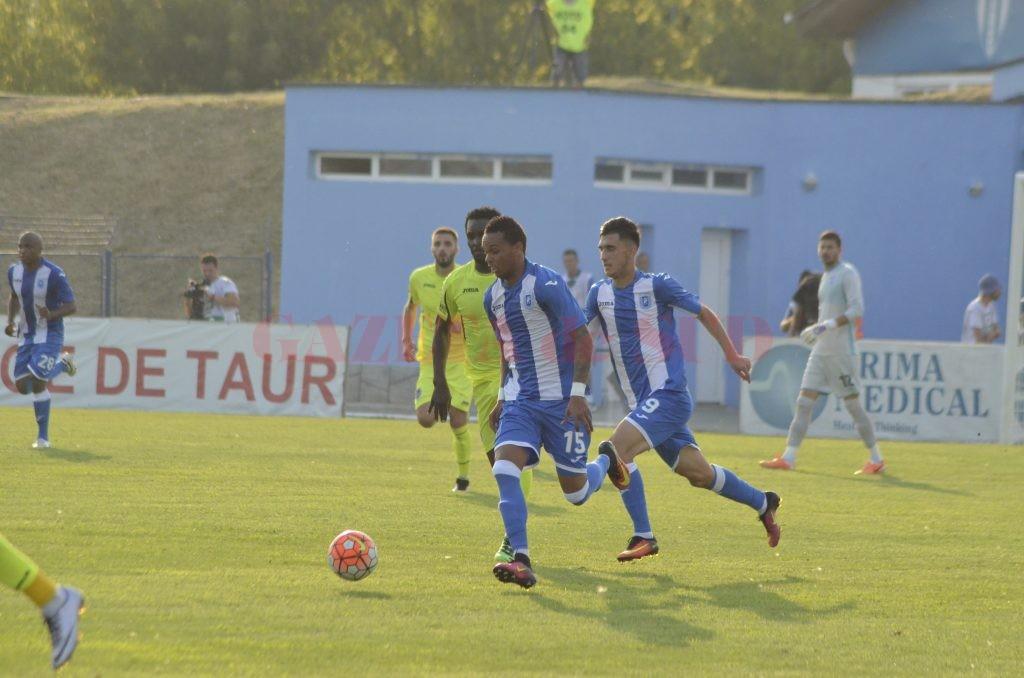 Nuno Rocha a făcut o partidă bună cu ASA (foto: Alexandru Vîrtosu)
