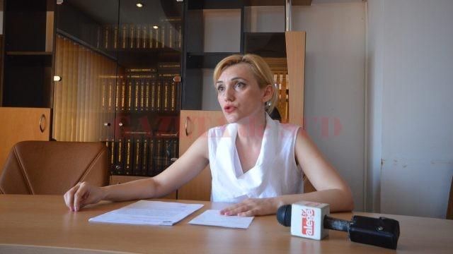 Adina Boboș, purtătoarea de cuvânt a ITM Dolj (Foto: Traian Mitrache)