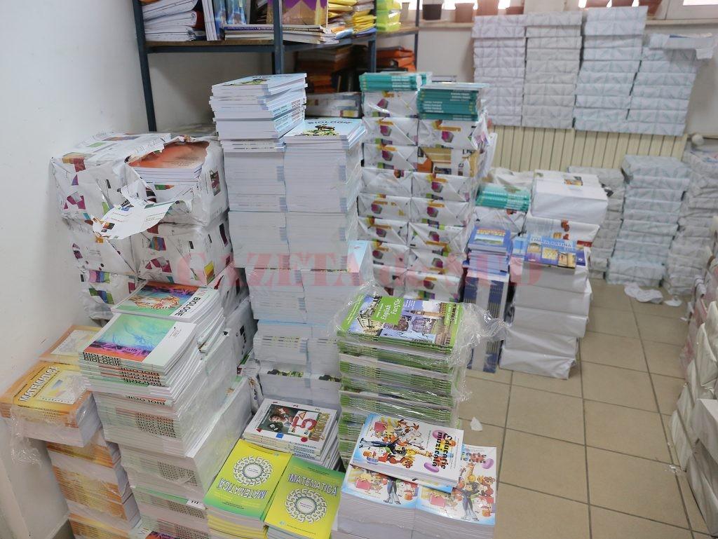 Elevii claselor a IV-a nu vor avea toate manualele, la începerea anului şcolar. Vor lipsi  manualele de Limba Română, Geografie, Istorie şi Ştiinţele Naturii. (FOTO: GdS)