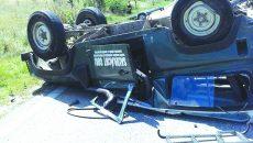Maşina de teren era folosită în intervenţiile de salvare  ale Salvamont