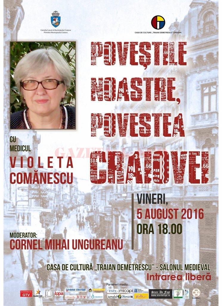 afis povestile noastre dna Violeta Comanescu