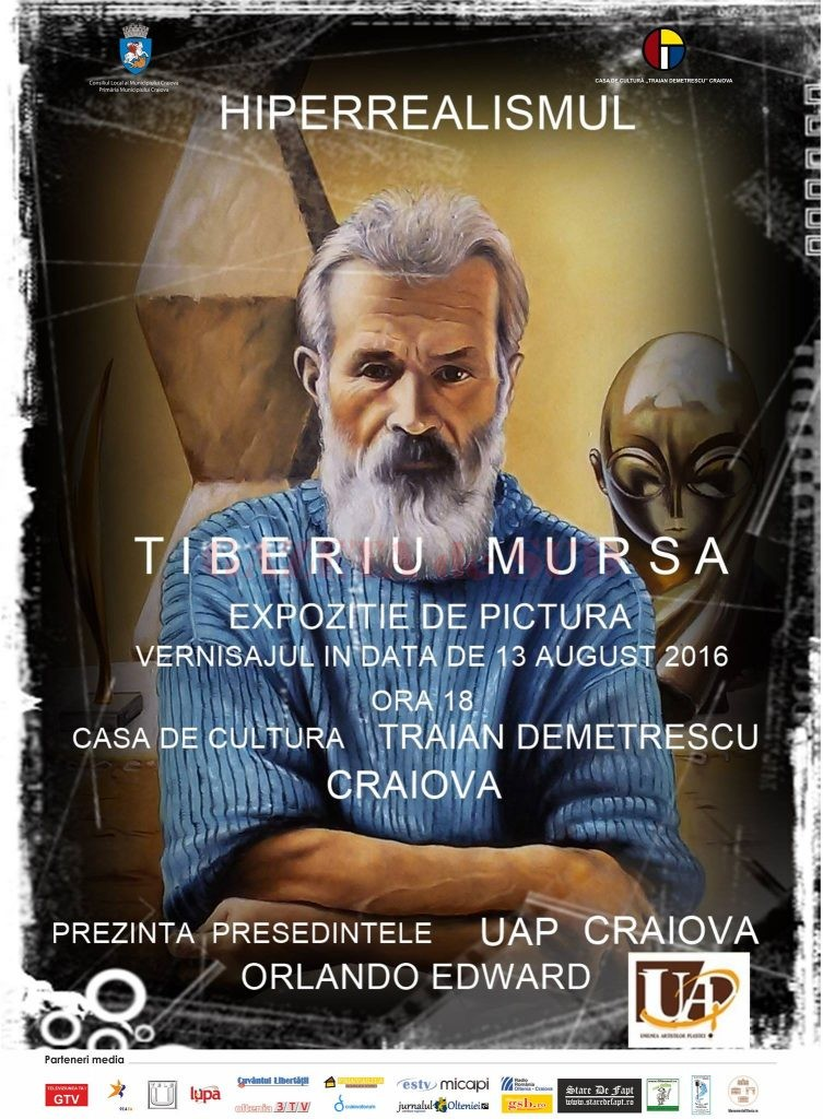 afis vernisaj Tiberiu Mursa