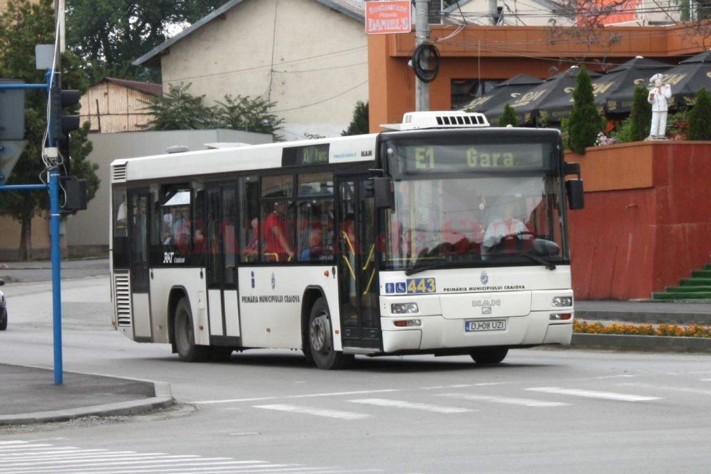RAT Craiova înfiinţează un nou traseu. Traseul face legătura între cartierele Craioviţa Nouă şi Romaneşti.