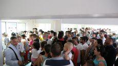 La Pașapoarte se formează cozi infernale în această perioadă (Foto: Lucian Anghel)