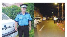 Agentul Constantin Barbu a fost lovit în timp ce încerca să legitimeze  mai mulți tineri care făceau scandal (Foto: buletindemehedinti.ro)