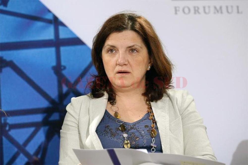 Ministrul justiției, Raluca Prună (FOTO: Agerpres)