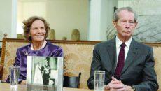 """Anul 2008 - Lansarea volumului """"Nunta de Diamant"""" scris de Principesa Margareta și de Principele Radu cu ocazia aniversării a 60 de ani de la căsătoria Regelui Mihai cu Regina Ana ()"""