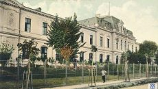 "Gimnaziul fiilor de militari D.A. Sturdza, ulterior denumit Liceul Militar ""D.A. Sturdza"" (Foto: Facebook: Craiova de ieri)"