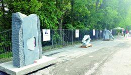 Operele vor fi amplasate în Parcul de pe insuliţă