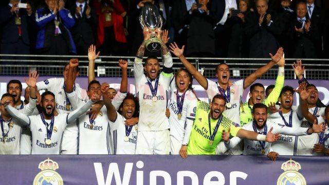 Real Madrid v Sevilla: UEFA Super Cup