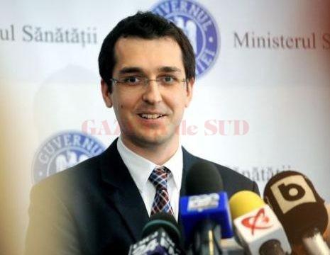 Vlad Voiculescu, ministrul sănătății (Foto: Agerpres)