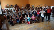 Dansatorii de la Palatul Copiilor se pregătesc pentru FlashMove (foto: Facebook Mihai Milu)