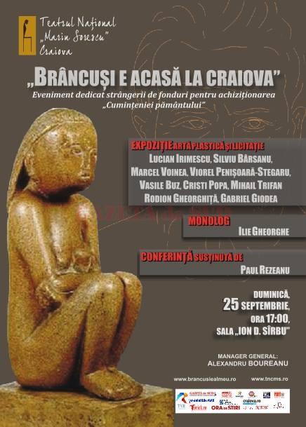 Afis Brancusi 25 sept TNC