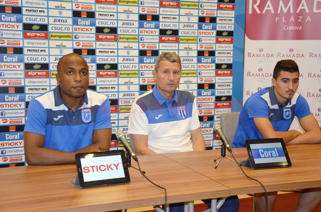 Madson, Mulţescu şi Briceag iau în calcul doar victoria în partida cu Chiajna (Foto: Alexandru Vîrtosu)