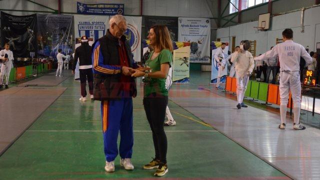 Loredana Dinu, alături de antrenorul care a dus România spre aurul olimpic, Dan Podeanu