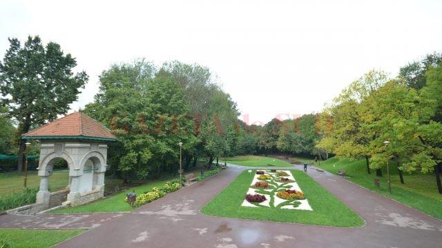 Intrarea în Grădina Botanică
