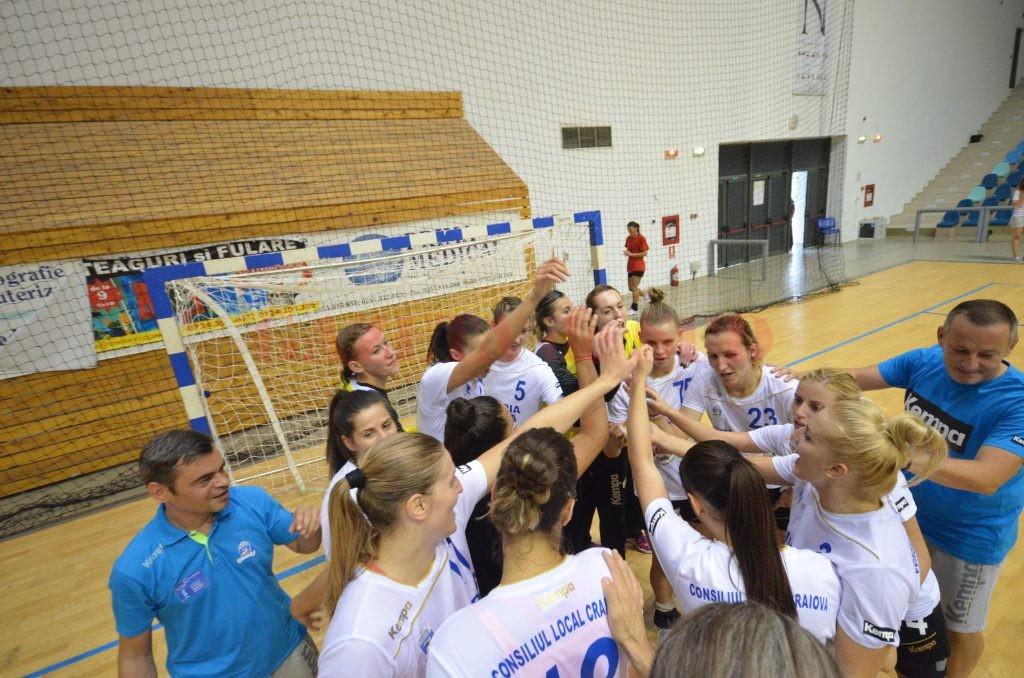 Echipa craioveană a plecat încrezătoare spre București