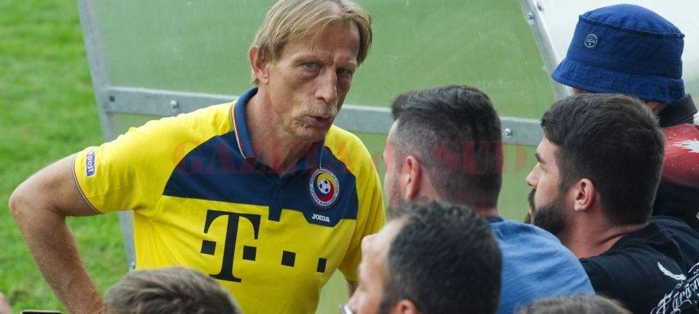 Christoph Daum apreciază fotbaliștii români (foto: sport.ro)
