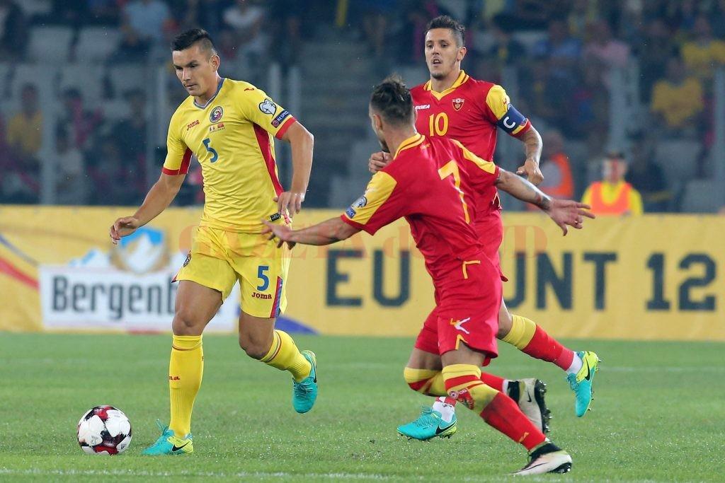 Hoban şi colegii săi au irosit două puncte cu Muntenegru (foto: frf.ro)