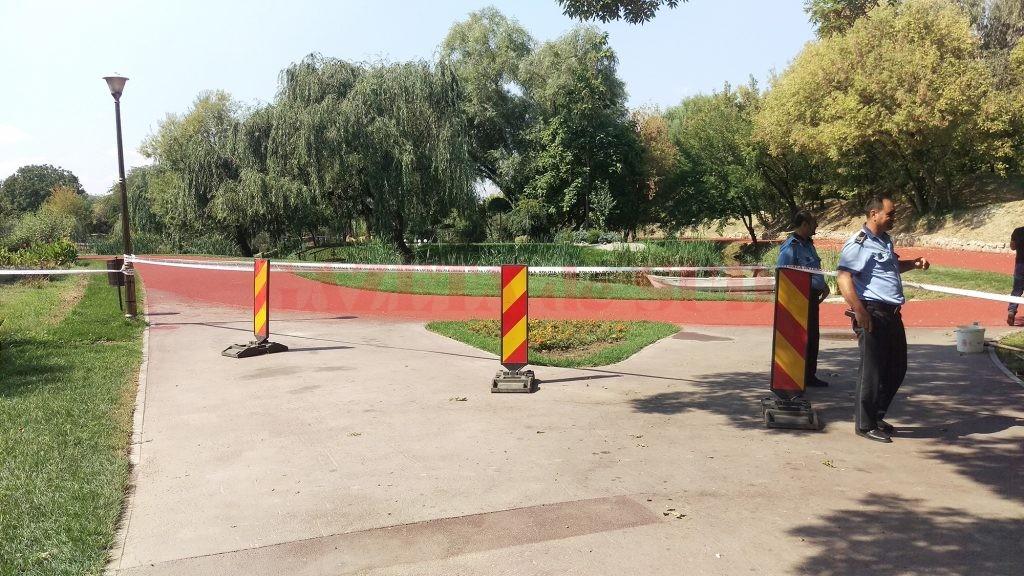 Grădina Botanică va fi deschisă în totalitate începând de mâine, când se va face recepția pistei de alergare (Foto: Marian Apipie)