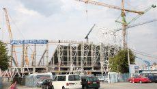 CON-A nu a găsit muncitori din Craiova pentru lucrările la stadion (Foto: Lucian Anghel)