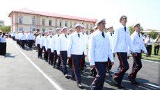 200 de elevi au pășit ieri pentru prima dată pe porțile Liceului Militar din Craiova (Foto: Claudiu Tudor)