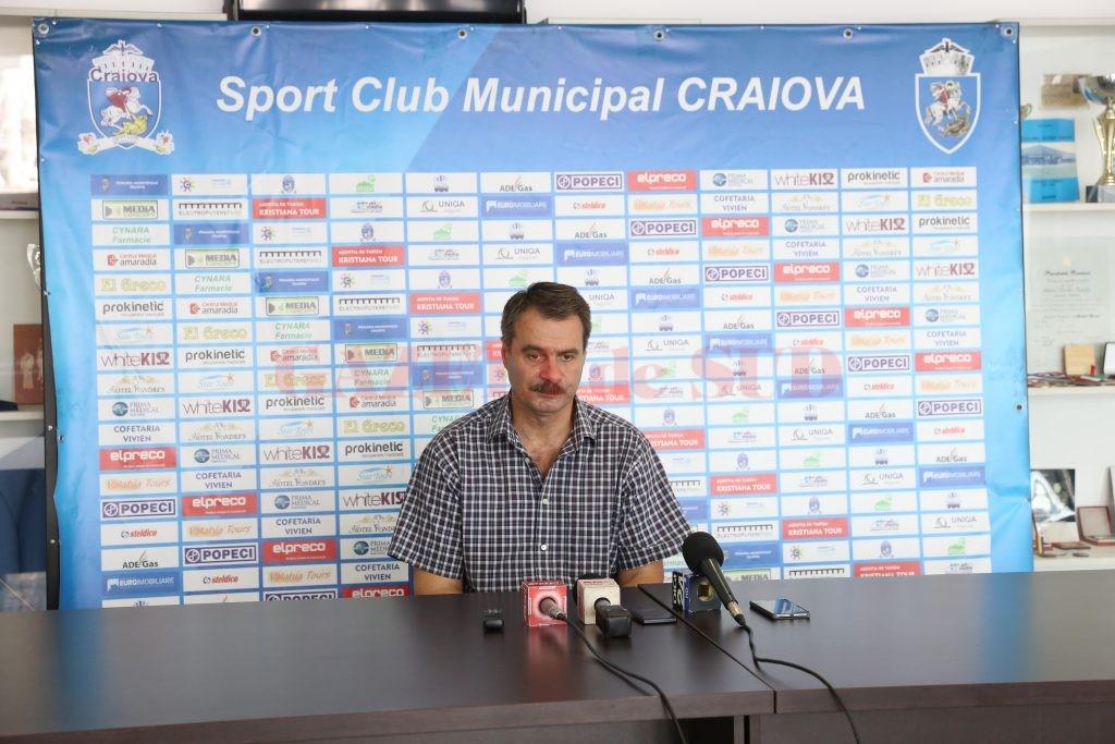 Marius Barcan, directorul clubului SCM (Foto: Lucian Anghel)