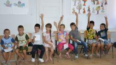 Copii din Palilula care beneficiază de programul Pâine şi Mâine