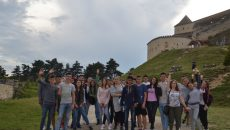"""Bursierii """"Vreau în clasa-a noua"""" la Cetatea Râşnov"""