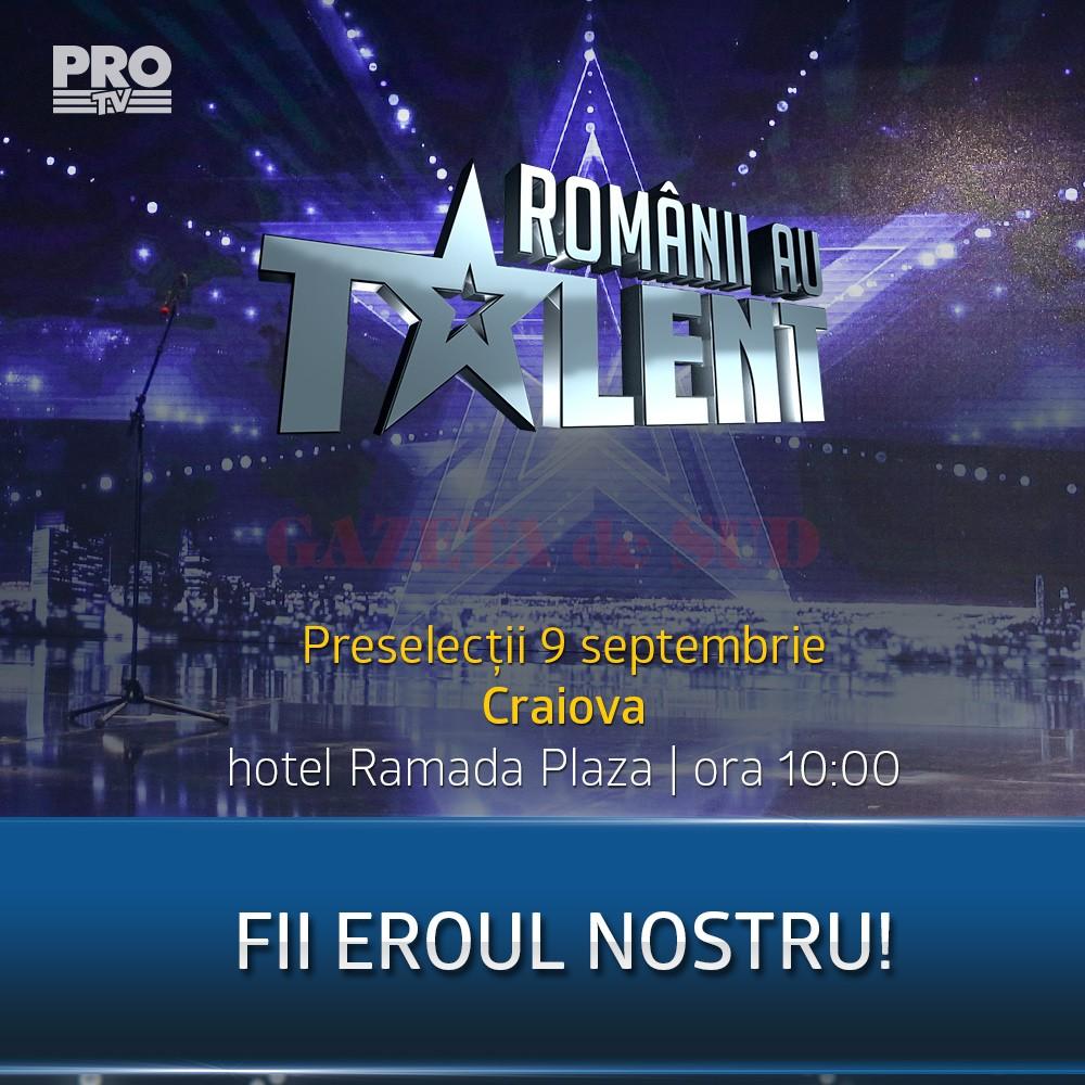 Preselectii Romanii au talent - Craiova
