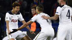 Son a marcat un gol de trei puncte pentru Tottenham în  jocul cu ȚSKA Moscova (Foto: uefa.com)