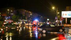 Accidentul s-a produs la intersecția străzii Pașcani cu Calea Severinului