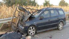 Un accident grav, în care au fost implicate două căruţe, a avut loc anul trecut, în comuna Leu, trei persoane pierzându-şi viaţa (Foto: Arhiva GdS)
