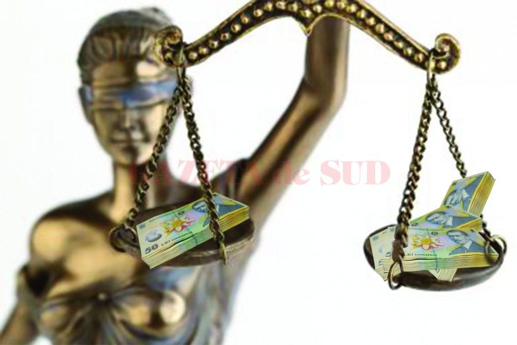 balanta justitie bani