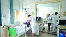 400 de pacienți sunt internați lunar  în Clinica de Cardiologie a SJU Craiova (Foto: Traian Mitrache)
