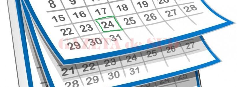 calendar ianuarie 2