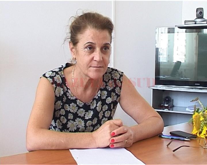 Castelia Moreanu, directoarea APIA Dolj