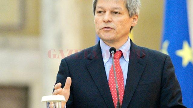 Premierul României Dacian Cioloș (FOTO: fluierul.ro)