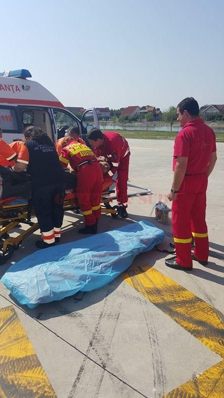 Nicu Guță a fost transportat la o clinică din Bucureşti