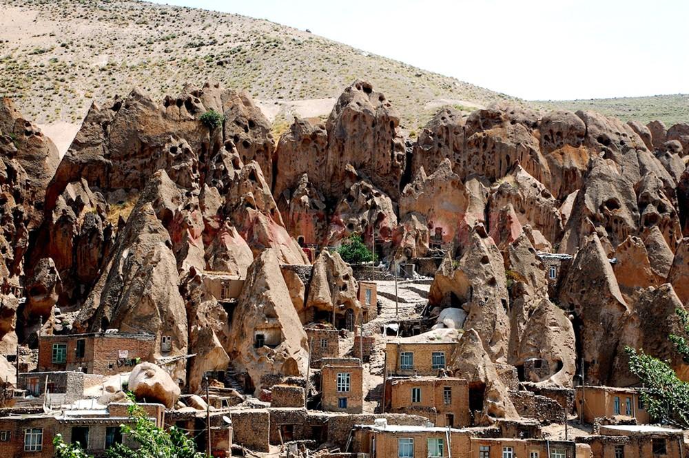 Oraşul Kandovan, din  Iran (Foto:  www.flickr.com)