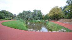 Pista de alergare din Grădina Botanică (Foto: Traian Mitrache)