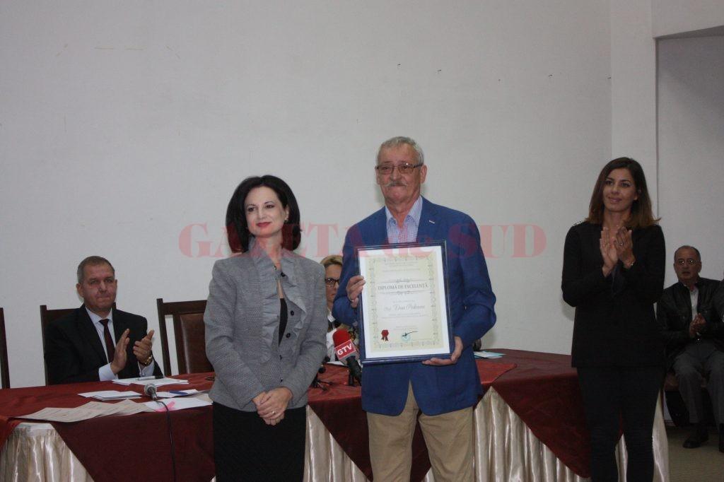 Lavinia Craioveanu, inspectorul general,  alături de Dan Podeanu (Foto: Carmen Rusan)