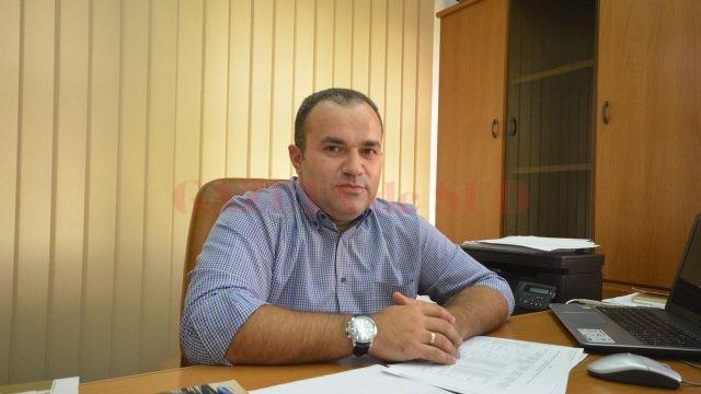 Florin Ciocan, președintele CAS Olt, vorbește despre cum sunt repartizați banii către furnizorii de servicii medicale (Foto: Traian Mitrache)