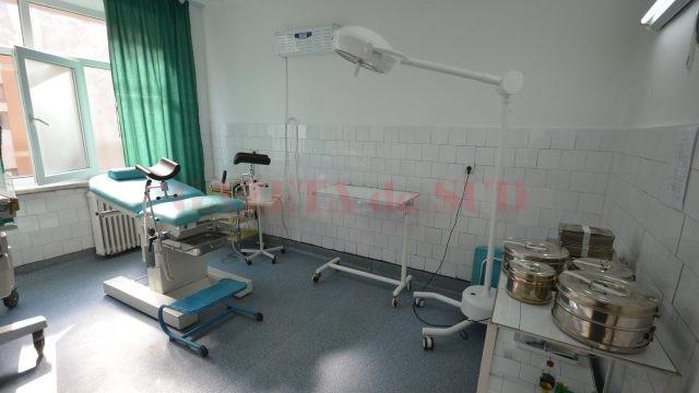 Sala de nașteri a Spitalului din Balș
