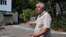 Președintele Asociației 15 - 1 Mai Stadion spune că vrea să fie de față când se ridică gunoiul suplimentar  (Foto: Lucian Anghel)